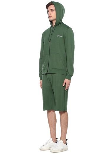 Cheap Monday Kapüşonlu Fermuarlı Sweatshirt Yeşil